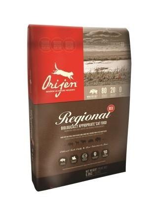 Orijen Regional Red Katt, 2,27 kg