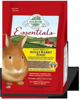 Oxbow kaninf�r voksne dyr 4,54 kg