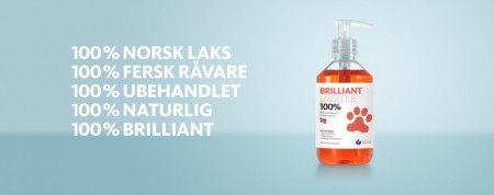 Brilliant lakseolje 300 ml